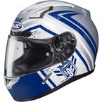 Blue/White CL-17 MC-2F Mech Hunter Helmet - 836-822