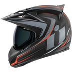 Black/Gray Variant Raiden Helmet - 0101-7815