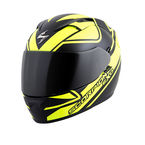 Black/Neon EXO-T1200 Freeway Helmet - T12-3504