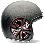 Red/Black/White Custom 500 Independent Helmet - 7062340