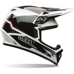 Black/White MX-9 Blockade Helmet - 7061062