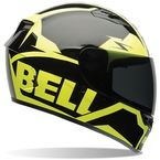 Black/Hi-Vis Yellow Qualifier Momentum Helmet - 7062070