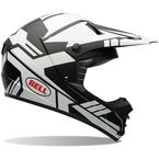 White/Matte Black SX-1 Stack Helmet - 7061193