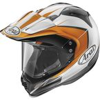 Orange/White/Black XD4 Flare Helmet - 81-2183