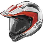 Red/White/Black XD4 Flare Helmet - 81-2193