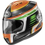 Orange/Black/White Corsair-V Rabat Helmet - 81-2234