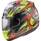 Red/Green/Black Corsair-V Edwards Helmet - 81-2253