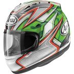Green/Silver/Red Corsair-V Nicky-5 Helmet - 81-4363