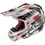 Red/White/Black VX-Pro 4 Tip Helmet - 81-4544