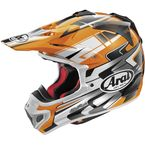 Orange/White/Black VX-Pro 4 Tip Helmet - 81-4573