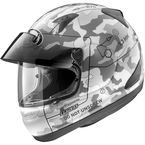 White/Silver/Black Signet-Q Pro-Tour Tactical Helmet  - 81-8103