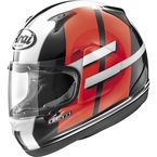 Red/Black/White RX-Q Conflict Helmet - 818295