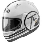 White/Black RX-Q 75 Retro Helmet - 81-8313