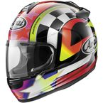 Black/White/Red/Yellow Vector-2 Schwantz 95 Helmet - 818333