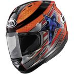 Orange/Black/Blue Corsair-V Disalvo Helmet - 81-2201