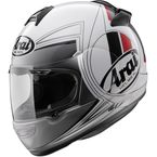 White/Red/Black Vector-2 Loop Helmet - 81-4283