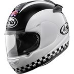 White/Black Vector-2 Legend Helmet - 81-4333