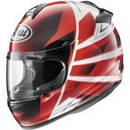 Red/White/Black Vector-2 Hawk Helmet - 81-4423