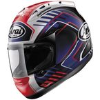 Red/White/Blue Corsair-V Rea 3 Helmet - 81-6271