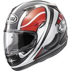 Black/White/Red Signet-Q Zero Helmet  - 81-6513