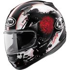Black/White/Red Signet-Q Basilisk Helmet  - 81-7270