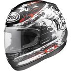 Black Frost/White/Red Signet-Q Tropic Frost Helmet - 81-7284