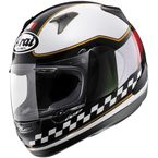 Black/White/Red RX-Q Flag IT 2013 Helmet - 81-7523