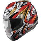 Red/White/Black Corsair-V Nakagami Helmet - 81-7901