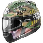 Green/Brown/Tan Corsair-V Nicky GP Camo Helmet - 81-7913