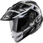 Black/White/Silver XD4 Diamante Helmet - 81-7953