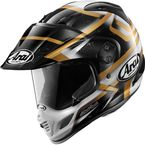 Black/White/Gold XD4 Diamante Helmet - 81-7973