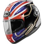 Red/Blue/Black Corsair-V Haslam Track Helmet - 81-7991
