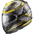 Black/Yellow Defiant Chronus Helmet - 81-8773