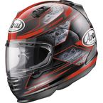 Black/Red Defiant Chronus Helmet - 81-8796