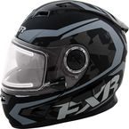 Matte Black/Charcoal Nitro Helmet w/Electric Shield - 15411.20013