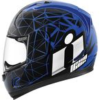 Blue/Black Alliance Crysmatic Helmet - 0101-7879