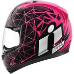 Pink/Black Alliance Crysmatic Helmet - 0101-7886