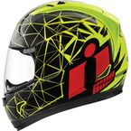 Hi Viz/Black Alliance Crysmatic Helmet - 0101-7898