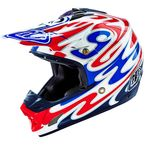 Red/White/Blue SE3 Reflection Helmet - 109006102