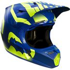 Blue/Yellow Savant Limited Edition V3 Helmet - 15209-026-XL