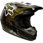 Green Camo Limited Edition V1 Helmet - 14122-031-XL