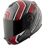 Red/Black/Grey Lock & Load SS1700 Helmet - 87-8770