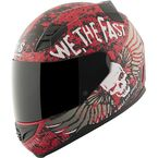 Red/Black We The Fast SS1200 Helmet - 878788