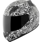 White/Black United By Speed SS1200 Helmet - 87-8806