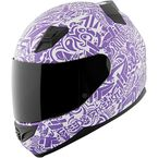 Purple/White United By Speed SS1200 Helmet - 87-8818