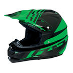 Black/Green Roost SE Helmet - 0110-4177