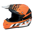 Black/Orange Roost SE Helmet - 0110-4183