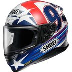 Red/White/Blue RF-1200 Marquez Indy TC-2 Helmet - 0109-2102-07