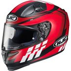 Red/Black/White RPHA-10 Pro Cypher MC-1F Helmet - 0801-2431-08