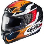 Blue/Orange/Red/White RPHA-10 Pro Elsworth MC-6 Helmet - 0801-2506-08
